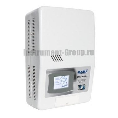 Стабилизатор напряжения однофазный цифровой Rucelf SRW II-6000-L (настенный)