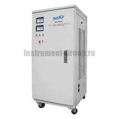 Стабилизатор напряжения однофазный электромеханический Rucelf SDV-20000
