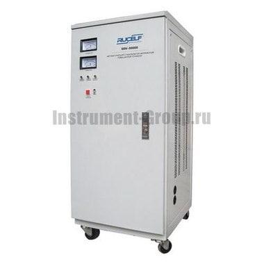 Стабилизатор напряжения однофазный электромеханический Rucelf SDV-30000
