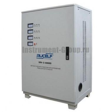 Стабилизатор напряжения трехфазный Rucelf SDV-3-60000