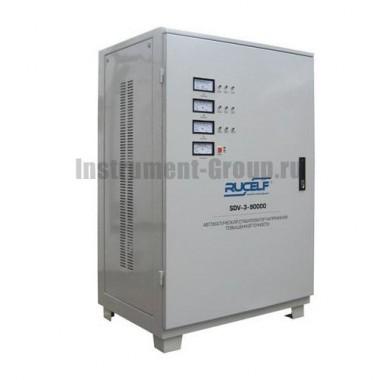 Стабилизатор напряжения трехфазный Rucelf SDV-3-90000