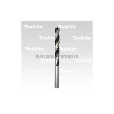 Сверло по дереву Makita D-07098 (10x105х135 мм,хв-цилиндр, острие центрирующее)