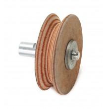 Диск кожаный для доводки полукруглых стамесок Elmos E60250 (для BG200/BG220)