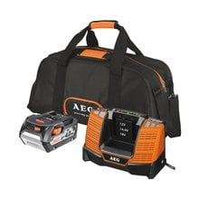Аккумулятор (18 В; 4.0 Ач; Li-Ion) + зарядное устройство SET L1840BL AEG 4932430359