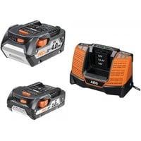 Аккумулятор L1840R (18 В; 4.0 Ач) + аккумулятор L1820R (18 В; 2.0 Ач) + зарядное устройство BL1218 + сумка AEG SETLL18X02BL2 4932459176