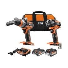 Набор инструментов AEG JP18C2LI-X02B 4935459114