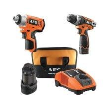 Набор аккумуляторных инструментов AEG JP12DLI-152B 4935451234