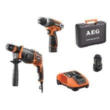 Набор аккумуляторных инструментов AEG JP12B2 LI-152C 4935464158