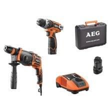 Набор аккумуляторных инструментов AEG JP2B18LI-152B 4935440838