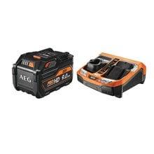 Набор из аккумулятора и зарядного устройства SETL1890RHDBLK AEG 4932464232