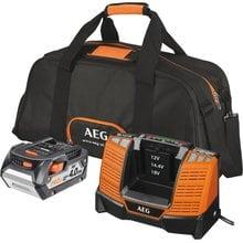 Набор из аккумулятора и зарядного устройства SETLL1840BL AEG 4932464157