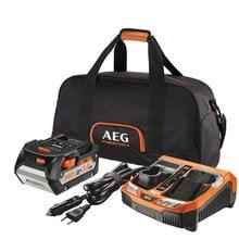 Аккумулятор L1850R (18 В; 5.0 Ач.; Li-ion) + зарядное устройство BLK1218 + сумка AEG SETL1850BLK 4932451629