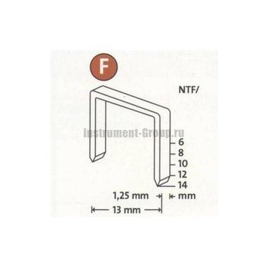 Скобы плоские Novus 042-0381 (NTF/10; 480 шт.)