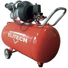 Масляный коаксильный компрессор Elitech КПМ 360/100