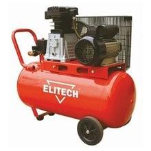 Масляный ременной компрессор Elitech КПР 100/400/2.2