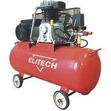 Масляный ременной компрессор Elitech КПР 100/450/2.2