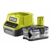 Аккумулятор  (18 В; 5.0 А*ч;Li-Ion)+ зарядное устройство Ryobi ONE+ RC18120-150 5133003366