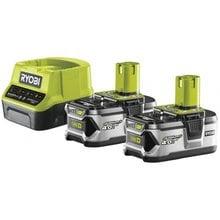 Аккумулятор 2 шт. (18 В; 4.0 А*ч; Li-Ion)+ зарядное устройство Ryobi ONE+ RC18120-240 5133003363