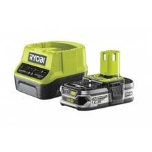 Аккумулятор  (18 В; 1.5 А*ч; Li-Ion) + зарядное устройство Ryobi ONE+ RC18120-115 5133003357