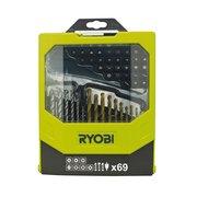 Набор комбинированный RAK69MiX 69 предметов Ryobi 5132002687