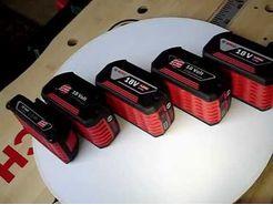 Увеличение емкости батарей Bosch с 4,0 Ач до 5,0 Ач в линейке 18 Вольт