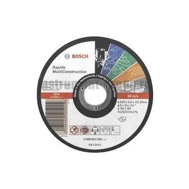 Диск отрезной Bosch 2.608.602.384 (115х22,23х1 мм)
