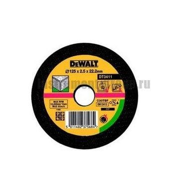 Диск отрезной по металлу DeWalt DT 3413 (125х22,2х2,5 мм)