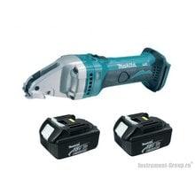 Аккумуляторный шлицевые ножницы Makita BJS161RFE