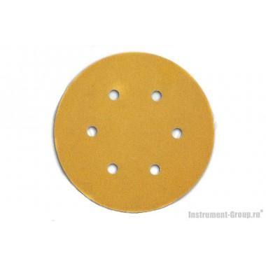 Круглая шлифбумага DeWalt DT 3131 (150 мм; К40; 25 шт; для дерева, краски)