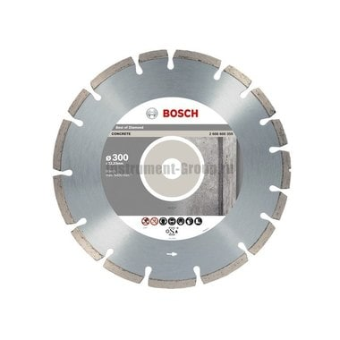Диск алмазный Bosch 2.608.602.656 (300х22,23х2,8 мм)  по бетону
