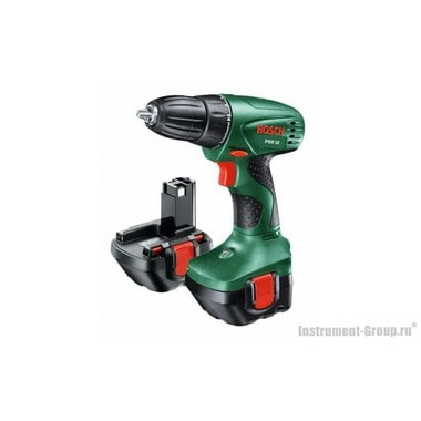 Аккумуляторная дрель-шуруповерт Bosch PSR 12 (2 акк.) (0603955521)