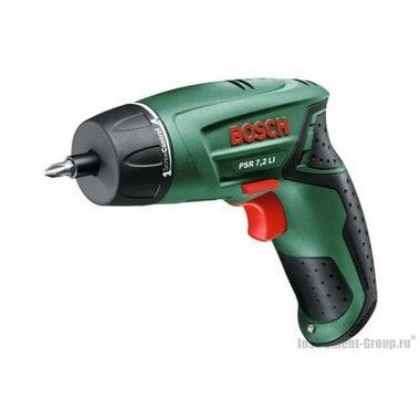 Аккумуляторная отвертка Bosch PSR 7,2 LI (0603957720)