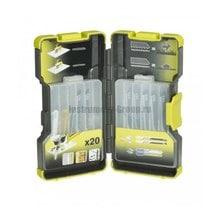 Набор пилок для лобзика 20 шт. Ryobi 5132002261(RAK20JB)