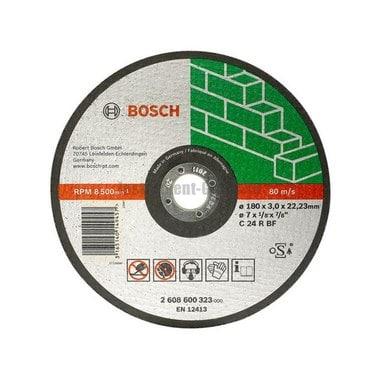 Диск отрезной Bosch 2.608.600.320 (115х22.2х2.5 мм; по камню)