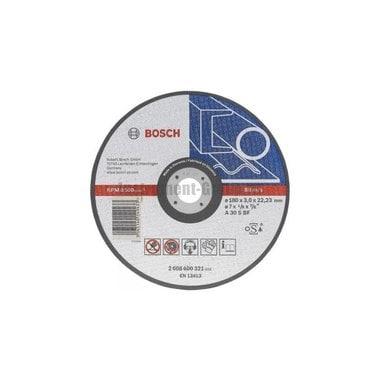 Диск отрезной Bosch 2.608.600.546 (230х22.2х3 мм; по чугуну)