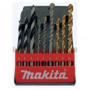 Набор сверл по металлу, дереву, бетону Makita D-08660 (9 шт.)