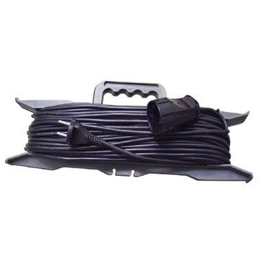 Силовой удлинитель на рамке, 1 розетка, 30 м Glanzen ER-30-001