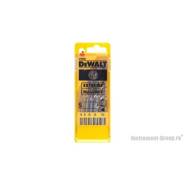 Набор сверл по кирпичу DeWalt DT 6956 (5 шт.)