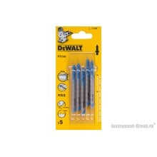 Набор пилок для лобзика DeWalt DT 2160 (5 шт.)