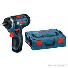 Аккумуляторный шуруповерт Bosch GSR 10.8-LI (0601992909) L-BOXX