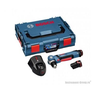 Аккумуляторная угловая дрель-шуруповерт Bosch GWB 10,8-LI (0601390908) L-BOXX