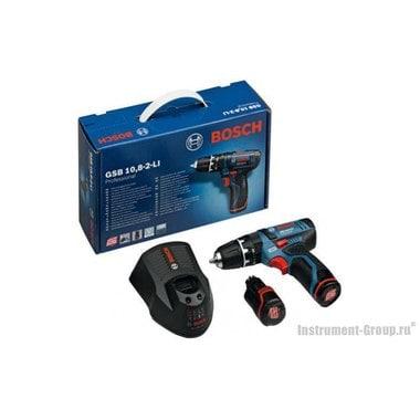 Аккумуляторная дрель-шуруповерт Bosch GSR 10.8-2-LI (0601868107)