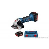 Аккумуляторная угловая шлифмашина Bosch GWS 18 V-LI L-BOXX 060193A30A