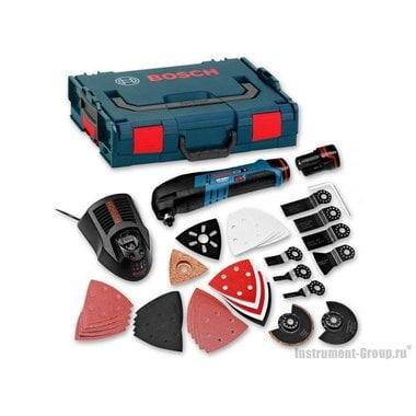 Аккумуляторный многофункциональный инструмент Bosch GOP 10,8 V-LI (solo) (060185800J) L-BOXX