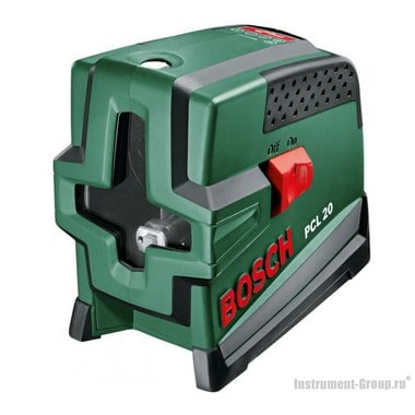 Построитель лазерных плоскостей Bosch PCL 20 (0603008220)