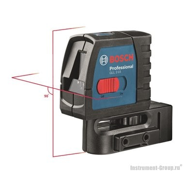Построитель лазерных плоскостей Bosch GLL 2-15 Prof. (0601063701)