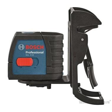 Построитель лазерных плоскостей Bosch GLL 2-15 Prof. + BM 3 0601063702