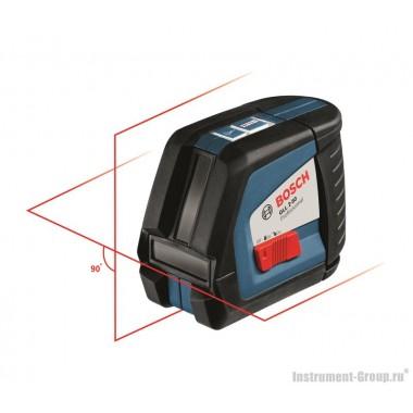 Построитель лазерных плоскостей Bosch GLL 2-50 + вкладка под L-Boxx (0601063104)