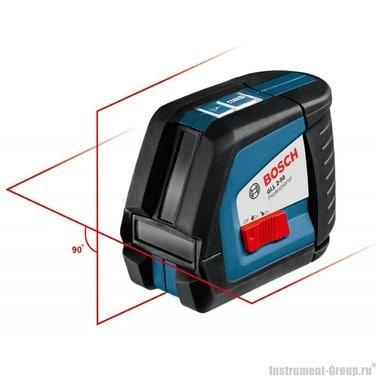Построитель лазерных плоскостей Bosch GLL 2-50 + BM1 + L-Boxx (0601063108)