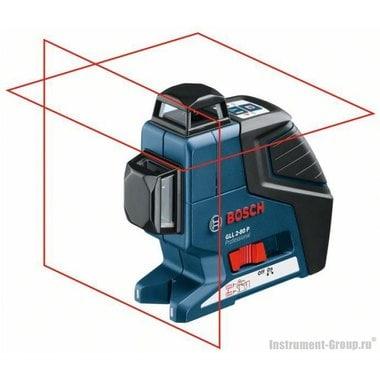 Построитель лазерных плоскостей Bosch GLL 2-80 P + BM1 в L-Boxx (0601063208)
